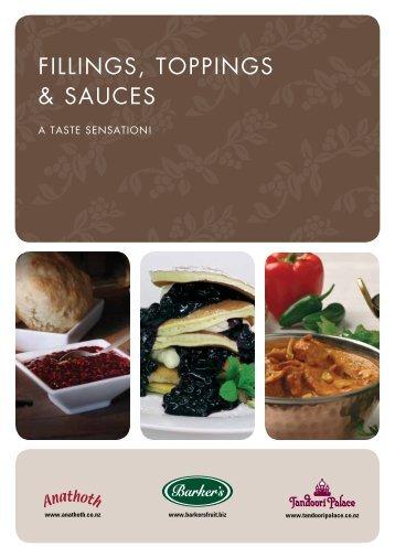 fillings, toppings & sauces - Barkersfruit.biz
