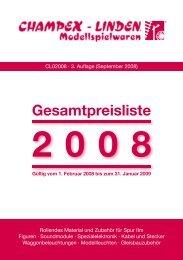 Gesamtpreisliste - Champex-Linden