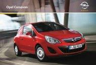 Brochure Corsa Van - Opel