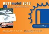 Flyer RETTmobil 2013 - Retter.tv