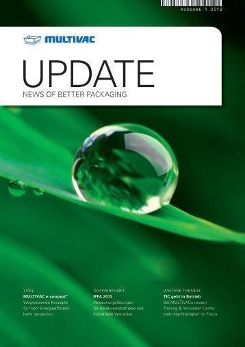 MULTIVAC Kundenmagazin UPDATE - 1-2013 - PDF herunterladen