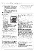 Benutzerinformation Waschmaschine ZWQ 6126 C - Electrolux-ui.com - Page 6