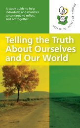 Telling the Truth About Ourselves and Our World - International ...