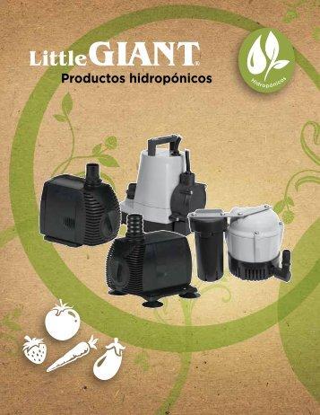 Productos hidropónicos