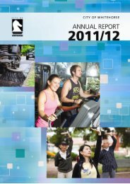 Annual Report 2011-12 - City of Whitehorse