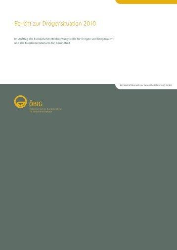 Bericht zur Drogensituation 2010 - Institut Suchtprävention