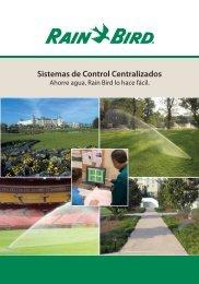 Sistemas de Control Centralizados - Rain Bird Ibérica