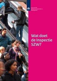 Wat doet de Inspectie SZW? (folder | pdf-document | 242 kB)