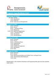 Programm der Konferenz - Kritischer Konsum