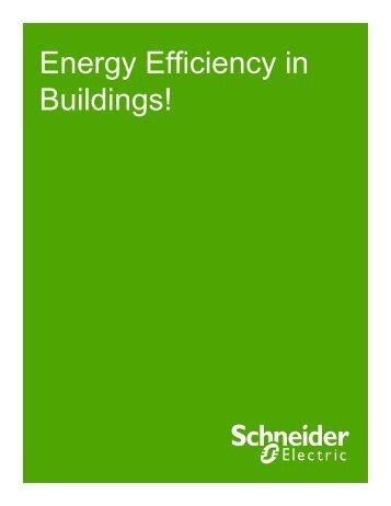 Energy efficiency in Buildings - Schneider Electric