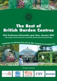 The Best of British Garden Centers - International Garden Centre ...