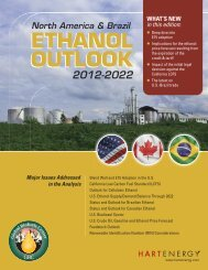 ETHANOL OUTLOOK ETHANOL OUTLOOK - Hart Energy
