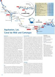 Aquitanien, Lot, Canal du Midi und Camargue - Kuhnle-Tours