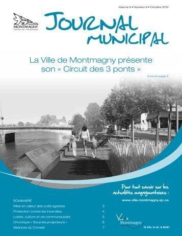 La Ville de Montmagny présente son « Circuit des 3 ponts »