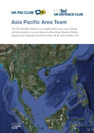 Asia Pacific Area Team - UK P&I