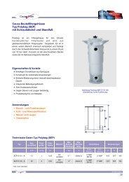 Kunststoff Serie Typ Polybag SEP (PDF-Übersicht) - Infiltec GmbH