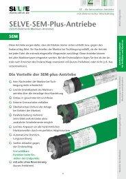 Produktbeschreibung SEM-PLUS Motoren - Rollo Rieper