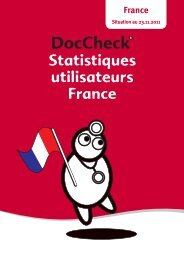 Statistiques utilisateurs France