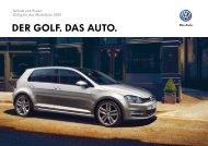 DER GOLF. DAS AUTO. - Volkswagen AG