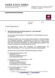 bei Hans Koch GmbH