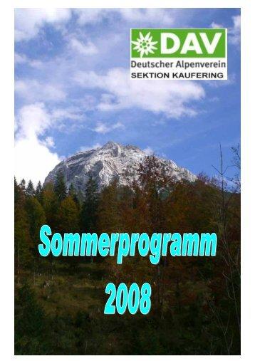 Bergtour - Deutscher Alpenverein Sektion Kaufering