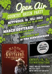 COUNTRY GREEN PARTY - Marco Gottardi