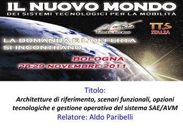 Diapositiva 1 - TTS Italia