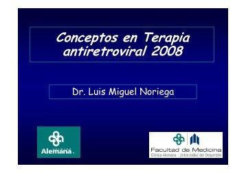 Conceptos en Terapia antiretroviral 2008