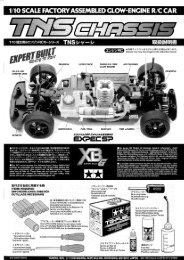 Tamiya TNX Manual - Wheelsacademy.info