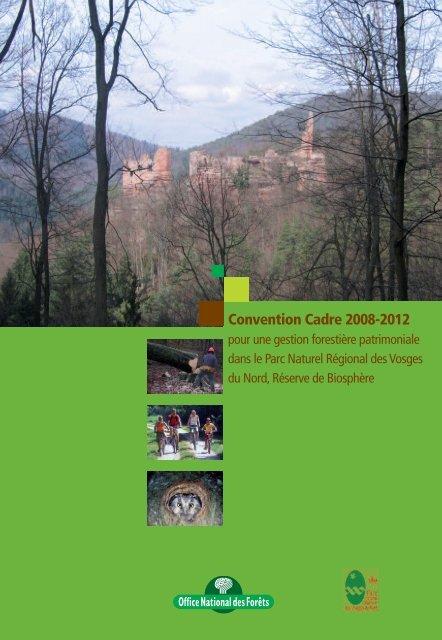 Convention ONF-Parc - Parc naturel régional des Vosges du Nord