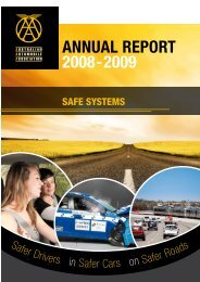 AnnuAl RepoRt 2008-2009 - Australian Automobile Association