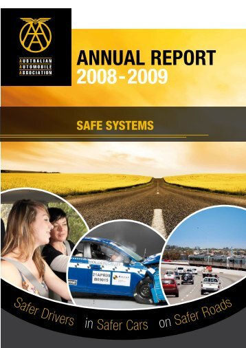 AnnuAl RepoRt 2008-2009 - Australian Automobile Association