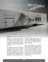 Download Brochure - Bryston