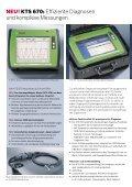 KTS 670: Das mobile Testsystem zur professionellen Steuergeräte ... - Seite 2