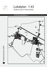 Lokalplan 1.43 - Ishøj Kommune