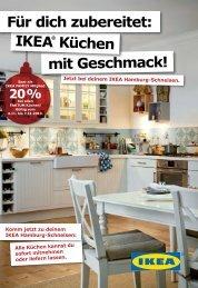 mit Geschmack! IKEA® Küchen Für dich zubereitet: