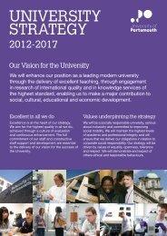 Strategy 2012-2017 - University of Portsmouth