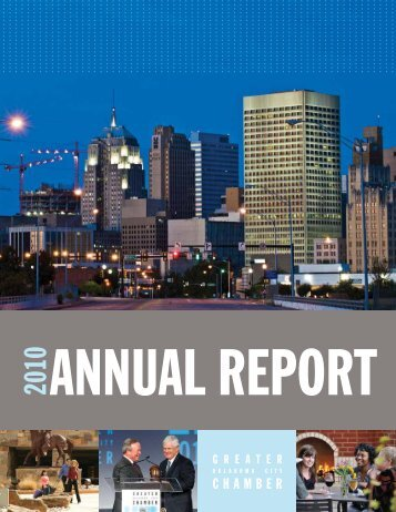 AnnuAl RepoRt - Greater Oklahoma City Chamber