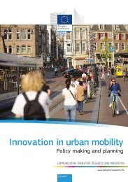 Innovation in urban mobility - KoWi