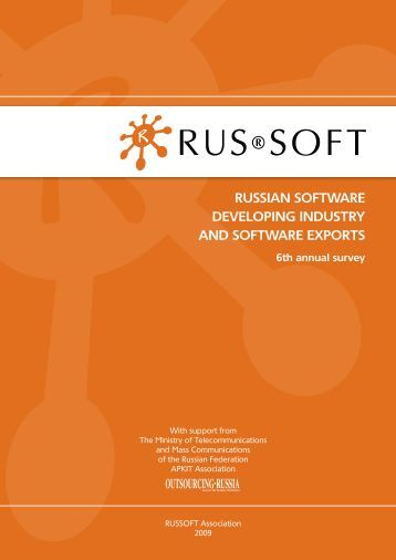russian software developing industry and software exports