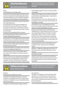 Bedienungsanleitung Instruction Manual - Seite 2