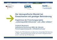 Präsentation Prof. Dr. Friedrich Dieckmann, Katholische Hochschule ...
