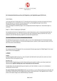 Regeländerungen 2013/2014 - FLVW Paderborn