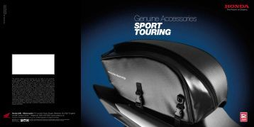 Genuine Accessories Sport TourING - Doble Motorcycles