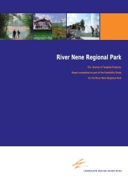 The Review of Tangible Projects - River Nene Regional Park