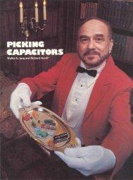 Picking Capacitors, Part 1 - Walt Jung