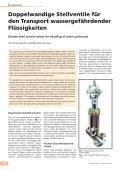 Doppelwandige Stellventile für den Transport wassergefährdender ... - Seite 2