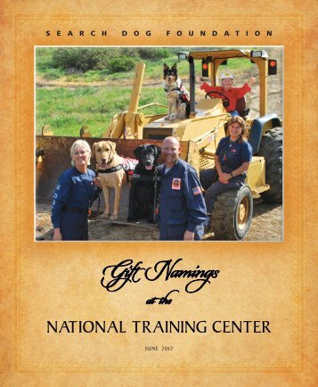 download pdf - Search Dog Foundation