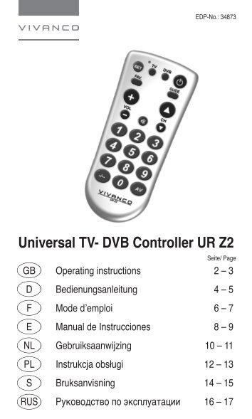 idigital rm 810 universal remote manual