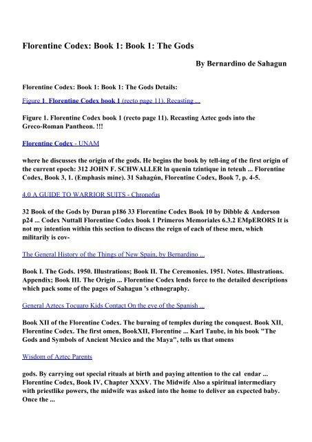 aztec codex pdf